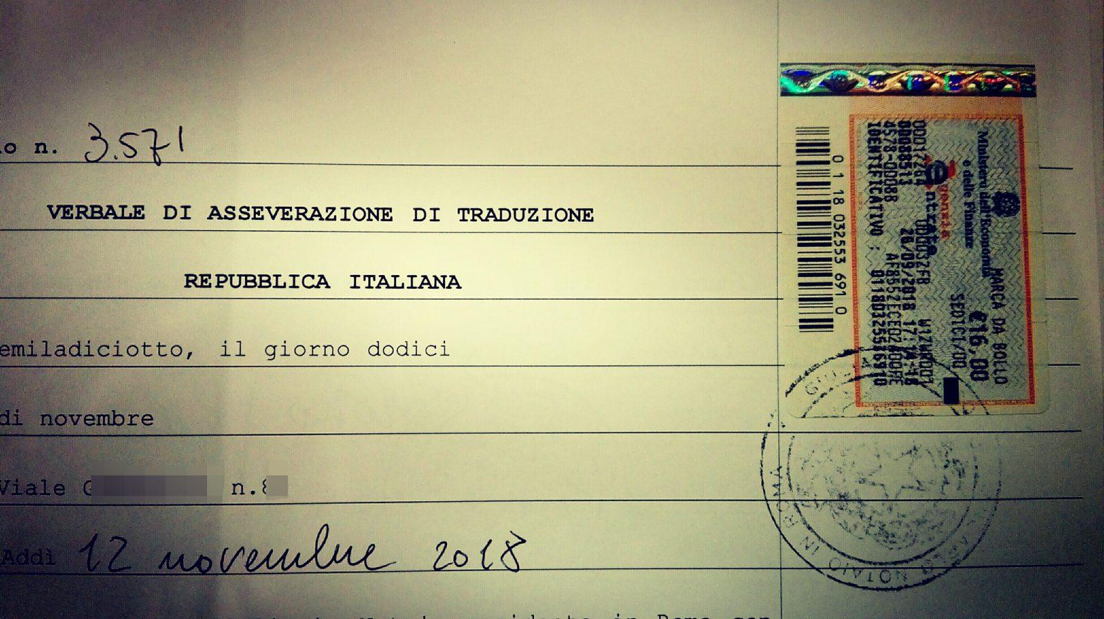 Traduzioni giurate a Roma: asseverazioni legalizzazioni apostille