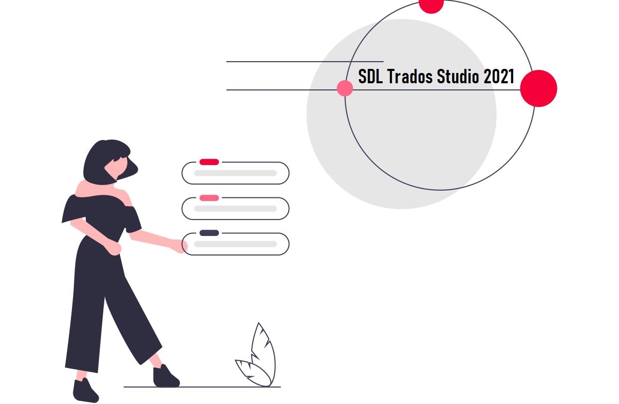 SDL Trados 2021 schema funzionalità per traduttori.