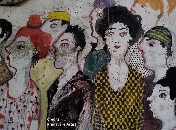 Distinguersi dalla massa Artisti di Primavalle Roma